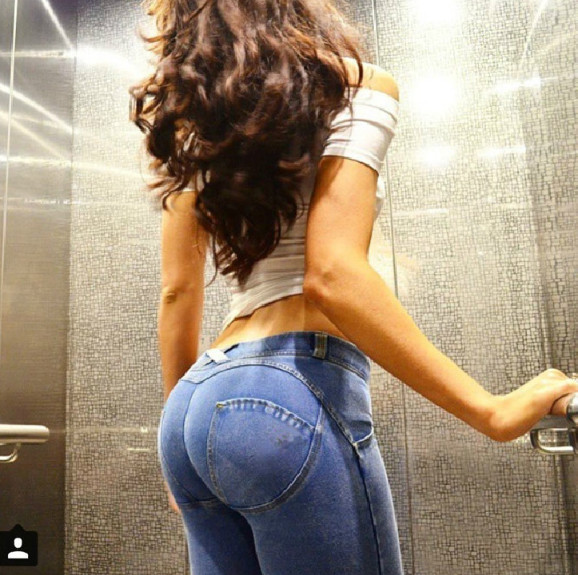 Sexy   Jeans   Hip Push Up Butt Lifting High Waist Stretchy Plus Size Colombian Pants Vestido Skinny Denim   Jeans   ouc262 Aidayou
