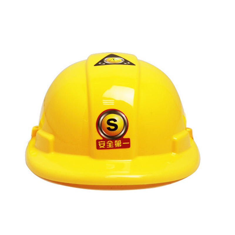 Play Hat Pretended Safety Hat realistic Engineering cap cosplay construction safety helmet family game hat