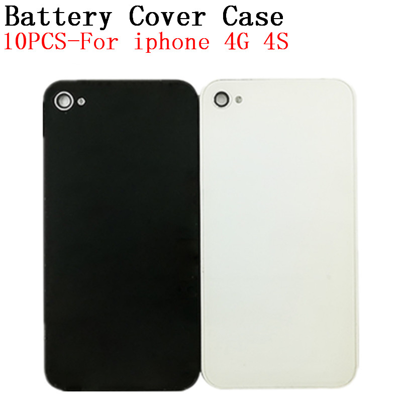 RTBESTOYZ Phone-Back-Cover Replacement Case Battery Door-Housing Glass iPhone 4 for 4G