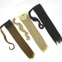 Soowee высокое Температура Волокно волос шнурок little pony Хвост Зажим в синтетических выдвижениях волос Синтетические волосы хвост шиньоны
