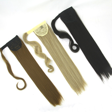 Soowee High Temperature Fiber Hair Drawstring Little Pony Tail Clip in Hair Extensions Synthetic Hair Ponytail Hairpieces