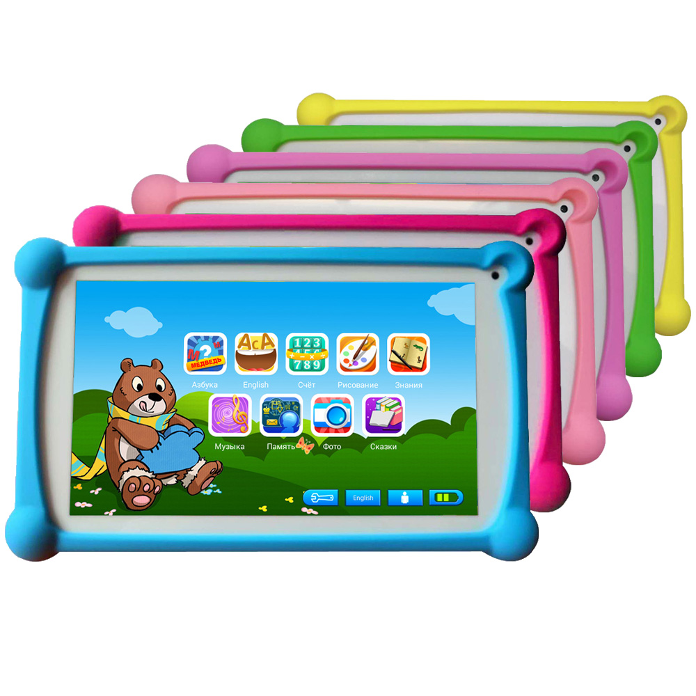 Newest B.B.PAW Kids Tablet 7 inch in Russian and English with 64+ Learning and Training Apps for Children 2-6 Years OldNewest B.B.PAW Kids Tablet 7 inch in Russian and English with 64+ Learning and Training Apps for Children 2-6 Years Old