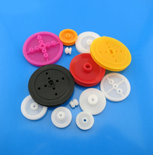 F17662 Feichao 13 Types Plastic Pulley Model Wheel Pulley DIY Science and Technology Manual Adult Toy Accessories for Car