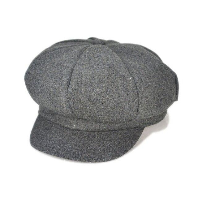 f466e0af21b5 Casquette plate Nouveau-Né photographie props bébé garçon chapeaux béret  grand chapeau à ras bord