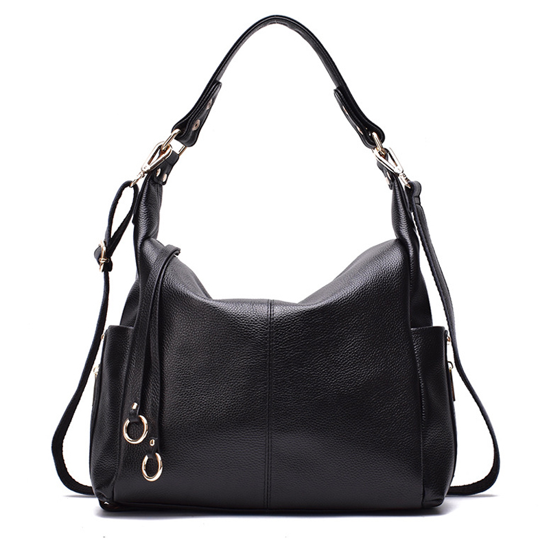 New Fashion Genuine Leather Woman Shoulder Bag Famous Brand Luxury Handbags Women Bags Designer Totes Crossbody Bag Mujer Bolsas new fashion women messenger bags famous brand casual tote bag women handbags genuine leather luxury designer shoulder bag bolsas