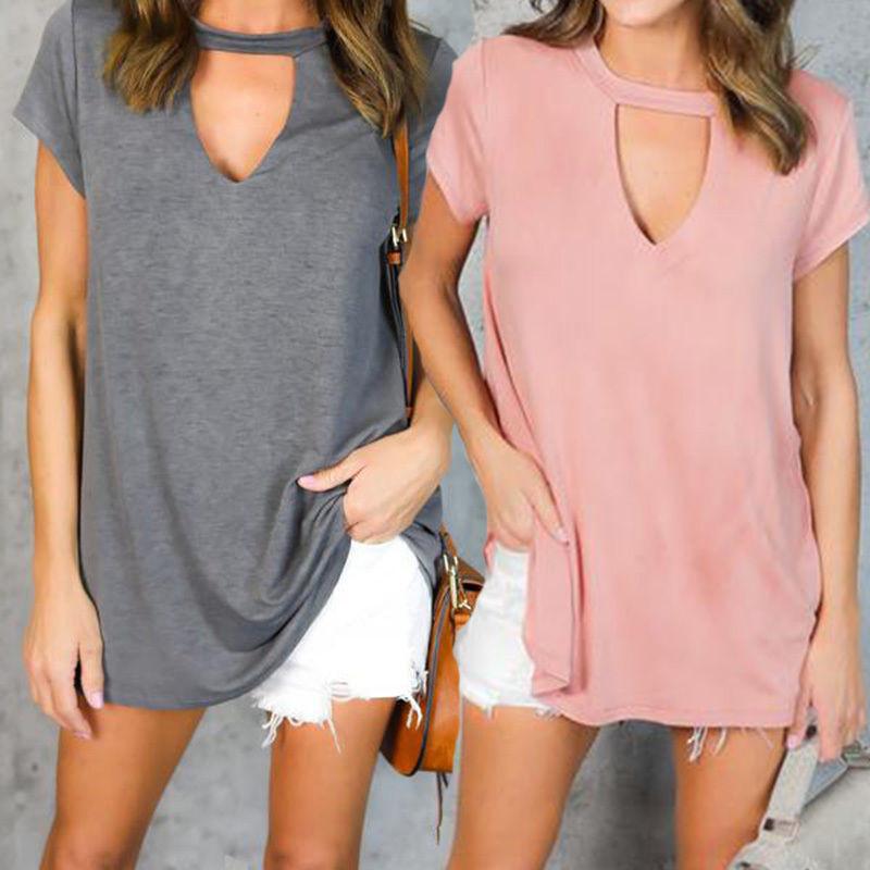 HTB1QAJLQFXXXXX8XpXXq6xXFXXXQ - Women Fashion T-Shirts Summer Cotton Short Sleeve Casual