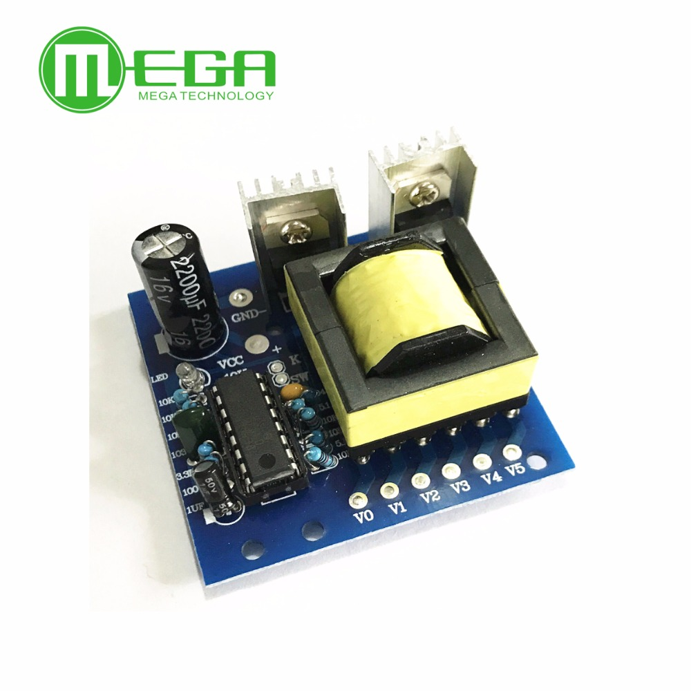 150W MC Converter DC 12V To AC 220V Inverter Boost Transformer Power Board Module High Frequency Square Wave AC Output 20KHz
