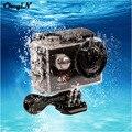 4 K Ultra HD Câmera de Esportes Wi-fi 16MP Full HD Câmera de Ação 1080 p 30 M Under Water Helmet Cam Lente 170D + Romote Controle LR3031