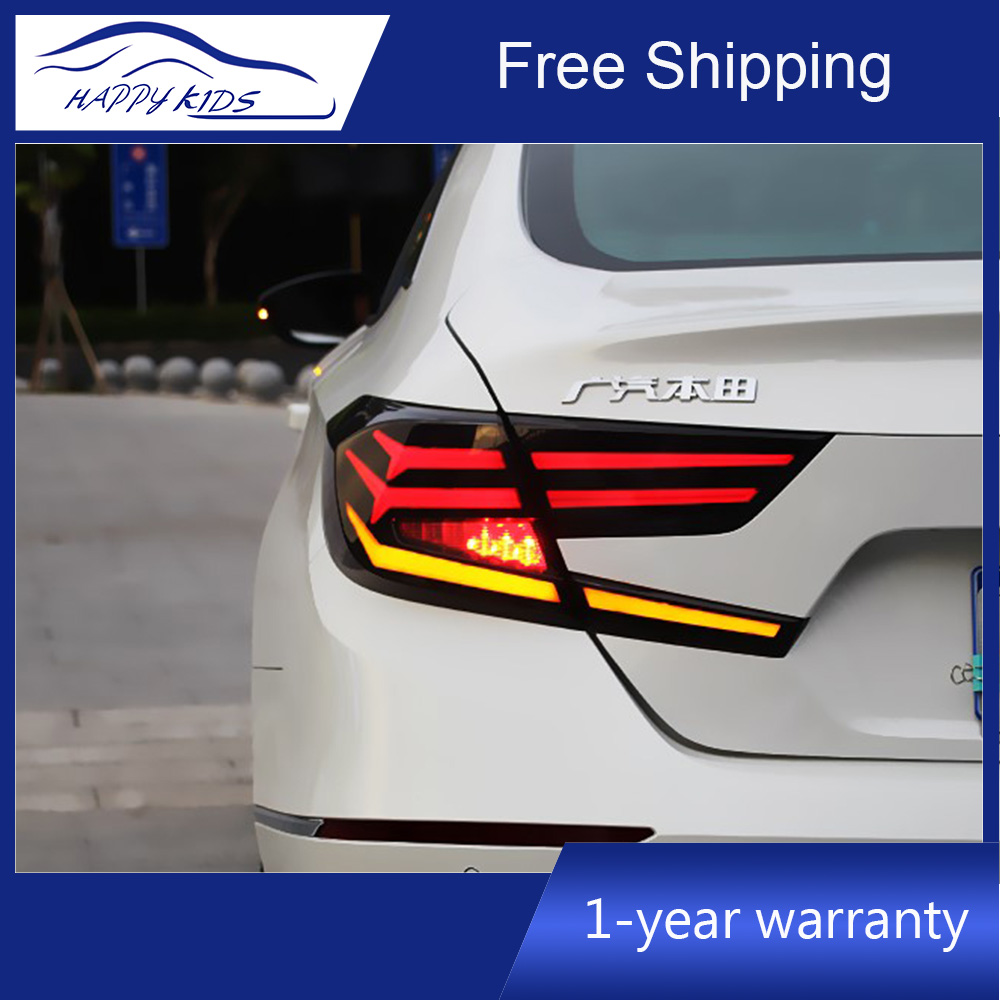Car Styling Led Rear Tail Lights For Honda Accord 2018 2019 rear tail light brake lamp