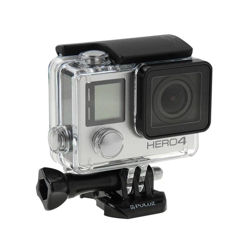 PULUZ for Go Pro Accessories Horizontal Surface Quick Release Buckle for GoPro HERO5 HERO4 SessionHERO 5 4 3 SJCAM SJ7000 SJ4000