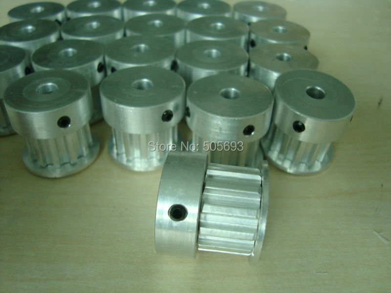 цены T5 timing pulley 12 teeth belt width 10mm bore 5 mm 32pcs with belt length 36m  sell by a pack