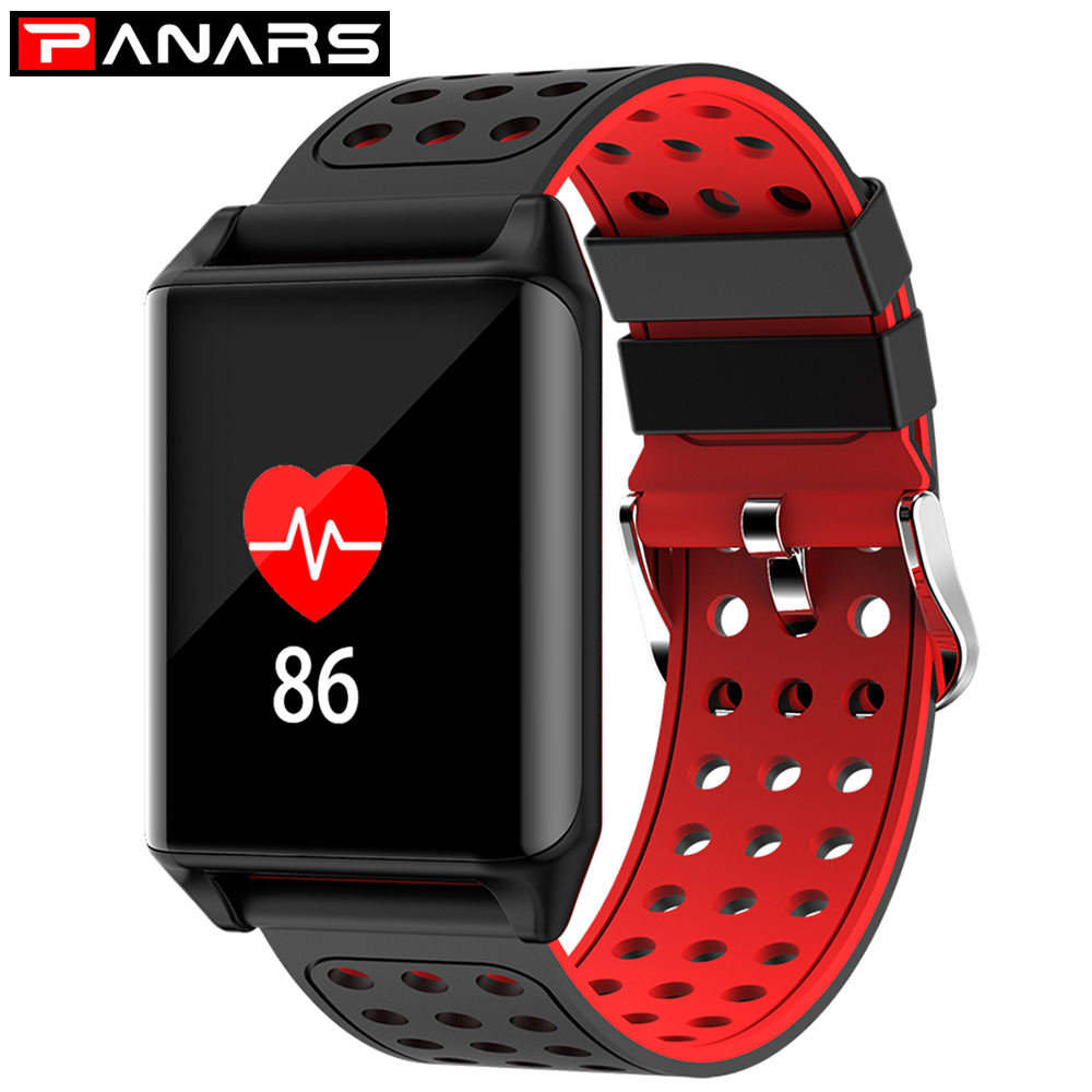 Luxury Smart Wristband LED Sport Watch Waterproof Silicone Clock Heart rate Blood Pressure Pedometer Alarm Clock For Android iOS цена 2017