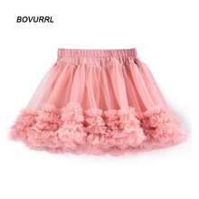 2018 school girls tutu skirts casual ballet skirt children fluffy skirt kids girls Party Mini dance skirt  fashion недорого