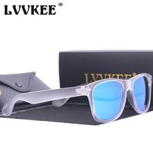 2017 LVVKEE Traveller Style Men Polarized Sunglasses Womens Vintage brand designer Driving Sun Glasses with high quality case