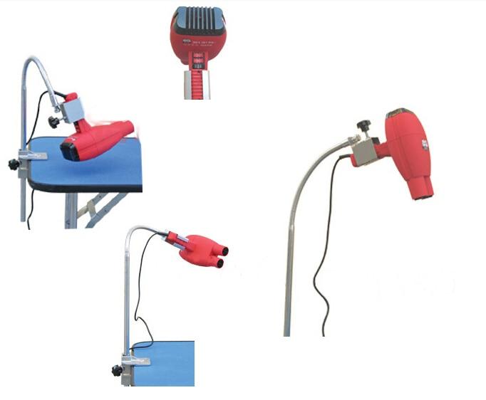 Nastavitelný přenosný mobilní skládací pes pro kočky Pet zastřihovací stolní stojan Profesionální skládací vysoušeč vlasů Stand