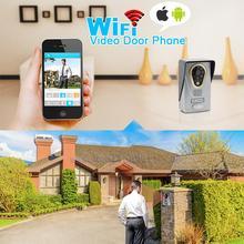 IP видео-телефон двери с IOS/Android-смартфон домофон безопасности дома Видеодомофоны с Камера движения Сенсор Ночное видение