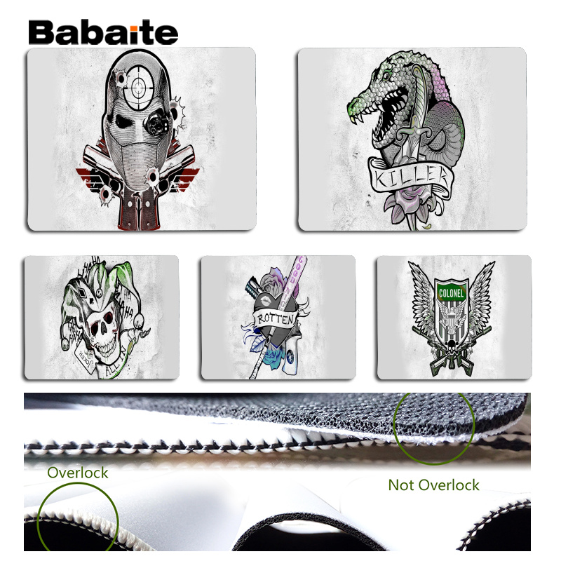 Babaite X task force publicity poster Large Mouse pad PC Computer mat Size for 25x29cm Gaming Mousepads