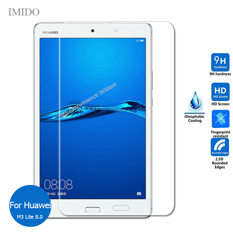 For Huawei Mediapad M3 Lite 8.0 Tempered Glass Screen Protector 9h Safety Protective Film On Media Pad M 3 8 CPN-W09 CPN W09