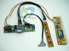 15 inch LM150X08 LTM150XO L01 1024x768  LCD Screen DIY a monitor controller board Kit RTD2270L Driver Board 20pin LVDS Cable