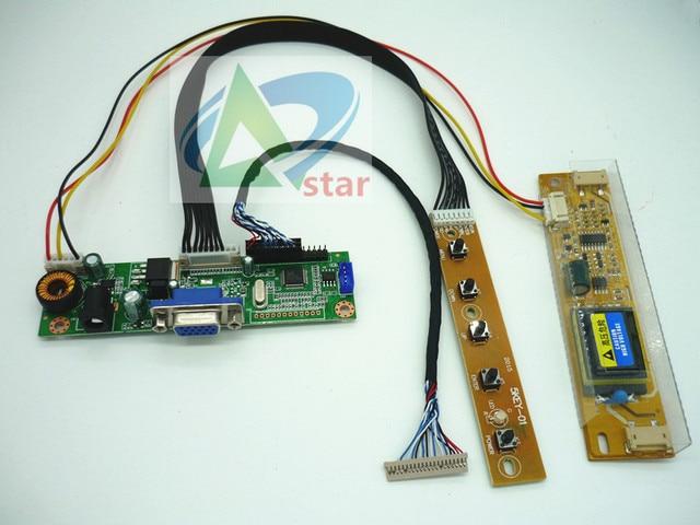 Pantalla LCD LM150X08 LTM150XO L01 de 15 pulgadas, 1024x768, Kit de monitor a DIY, placa controladora RTD2270L, placa controladora, Cable LVDS de 20 pines