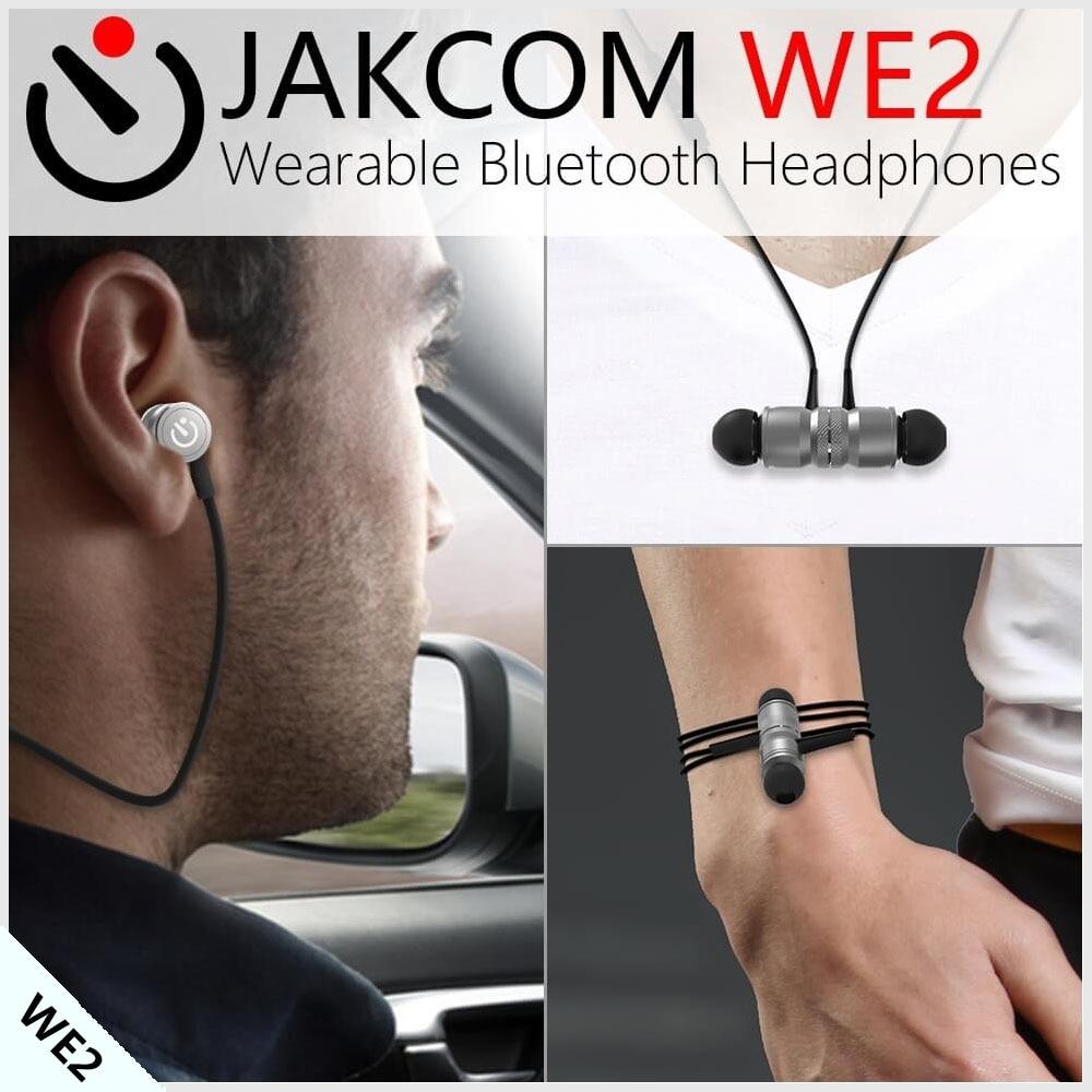 Jakcom WE2 Wearable Bluetooth Earphones New Product Of Smart Accessories As Pulseira Mi Band Polar M400 Pulseira Mi Band 2