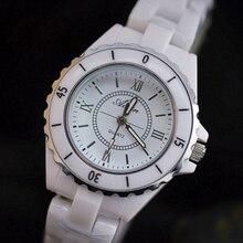 Marca de Moda Reloj de Cerámica de las Mujeres Romanas Reloj de Cuarzo Ocasional Reloj de Señoras de Las Mujeres Relojes Relogio Feminino Reloj de Regalo