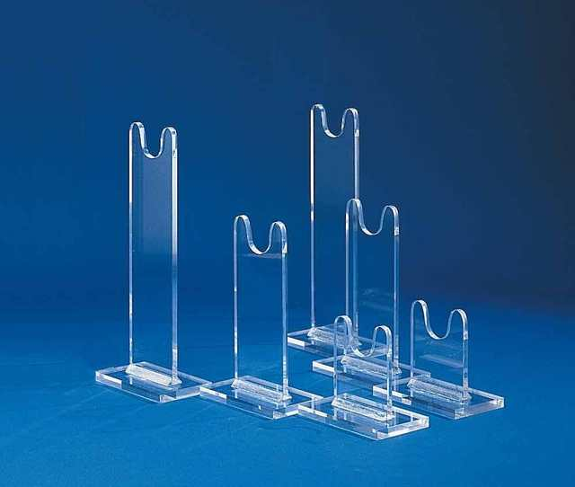 Clear Acrylic Antique Jewelry Stand