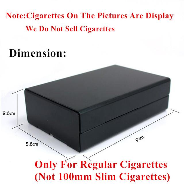 Personalized MacArthur World War 2 Aluminium Alloy Beauty Cigarette Case Laser Carved Will Not Fade Cigarette Box Smoke