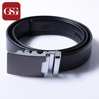 GSG Newly Designed Formal Wear Automatic Buckle Leather Belt For Men
