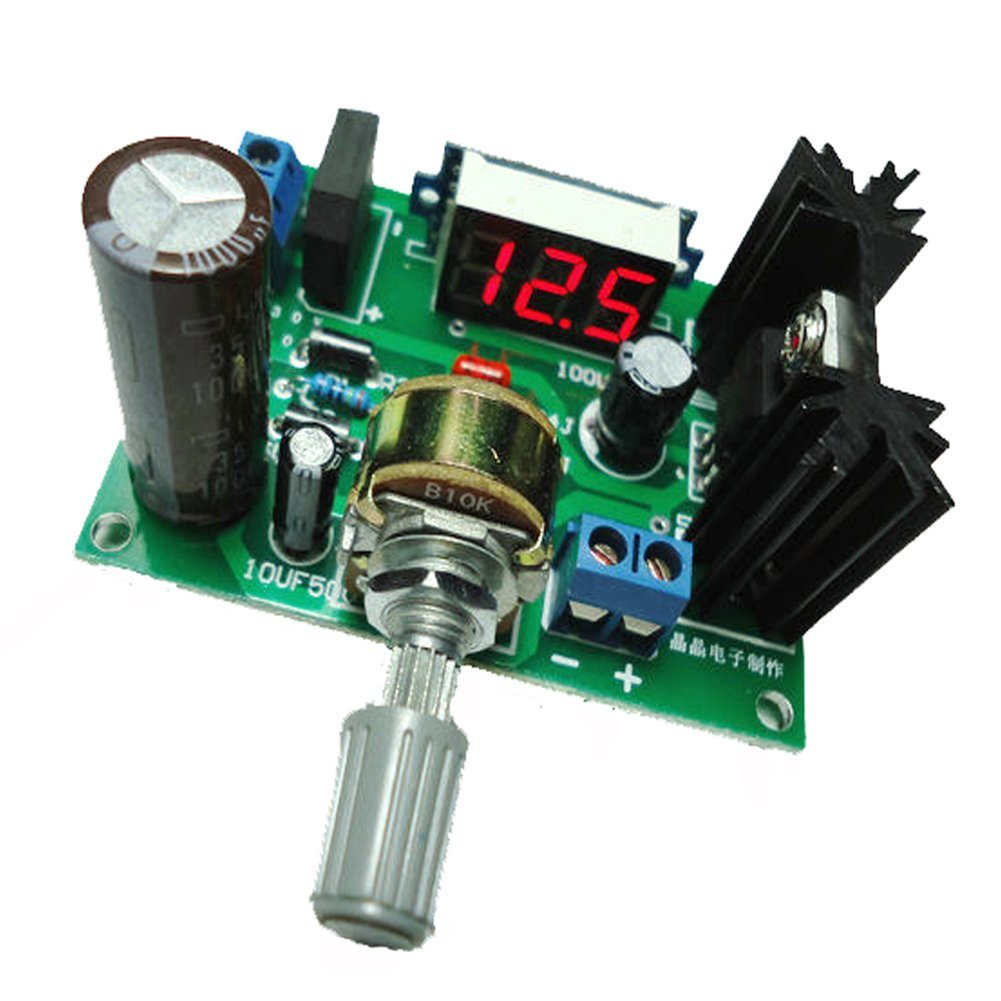 Lm317 Calculator Applications Circuits Led Step Down Power Supply Module Adjustable Voltage Regulator Input Dc 0v 30v Ac 22v Output 125v 2a In Integrated From Electronic