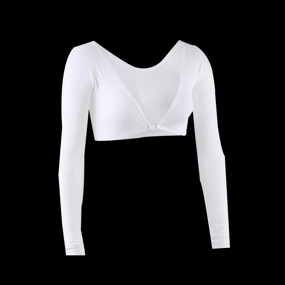 Women Arm Long Seamless Arm High Shaper Anti Cellulite Slim Upper Sleeves Ladies Compression Posture Wrap Corrector Solid Color