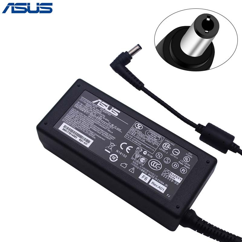 Asus 19V 3.42A 65W 5.5*2.5mm PA-1650-02 AC Power Charger adapter For Asus Laptop lidy pa 1650 02hc 65w 3 5a ac power adapter for hp compaq cq35 cq40 cq45 7 4 x 5 0mm