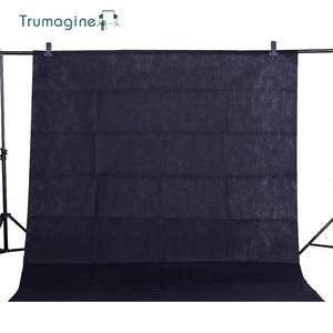 Image 2 - 1.6X3 เมตร/5.2X9.8Ft สีดำหน้าจอการถ่ายภาพภาพพื้นหลัง Chroma key ฉากหลัง Fotografia ถ่ายภาพผ้าไม่ทอ