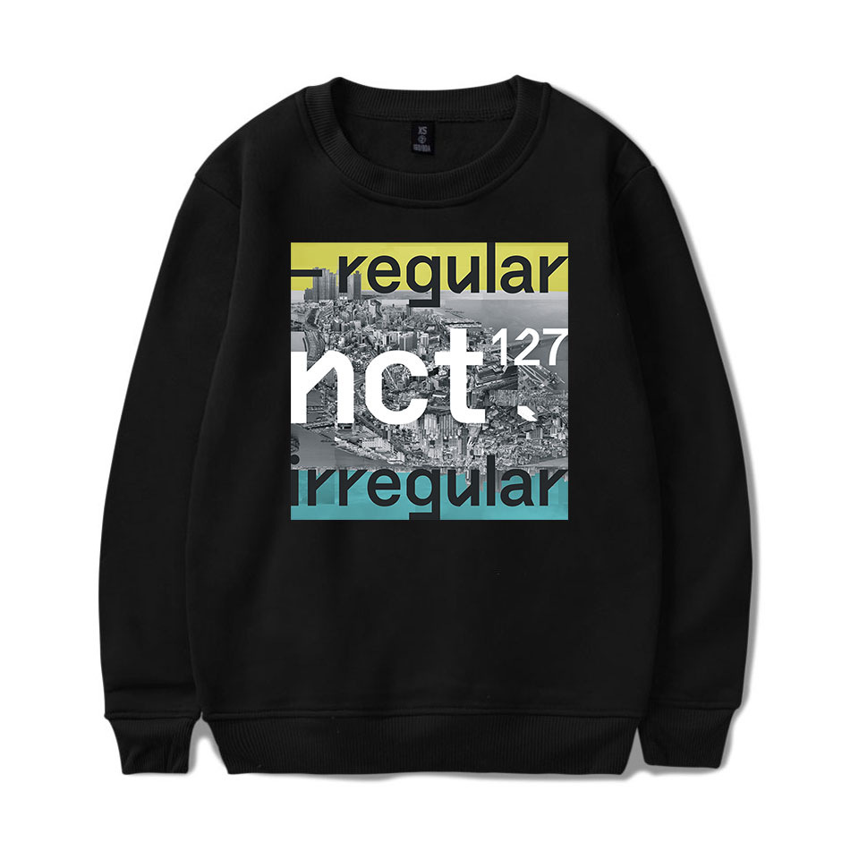 Kpop NCT 127 Sweatshirt NCT U Member Name Sweatshirts men women Pullovers harajuku hoodies casual Blouse Shirts