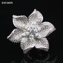 Женское кольцо с кристаллом и кубическим цирконием роскошные