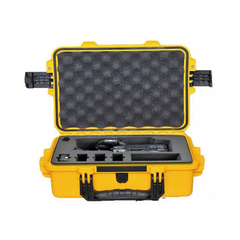 Tricases factory IP67 waterproof shockproof dustproof hard PP palstic small instrument cases M2100 for IPAD