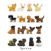 super mini pvc figure Little dogs model 16pcs/set