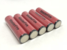 MasterFire 10pcs/lot Original Protected Battery For Sanyo UR18650w2 3.7V Rechargeable Li-ion 1500mAh 18650 Batteries with PCB