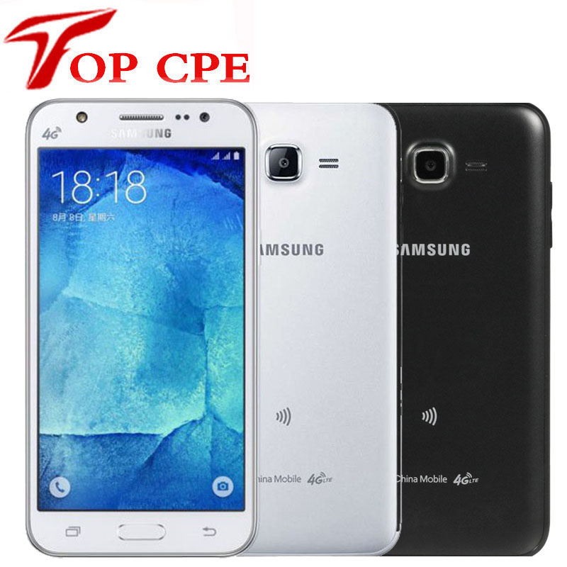 Original Samsung Galaxy J7 J700F J700H Smartphone Dual Sim Unlocked Cell Phone octa core 1.5GB RAM 16GB ROM 13MP Mobile phone(China)