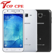 Смартфон samsung Galaxy J7 J700F J700H, две sim-карты, разблокированный мобильный телефон, четыре ядра, 1,5 ГБ ОЗУ, 16 Гб ПЗУ, 13 МП мобильный телефон