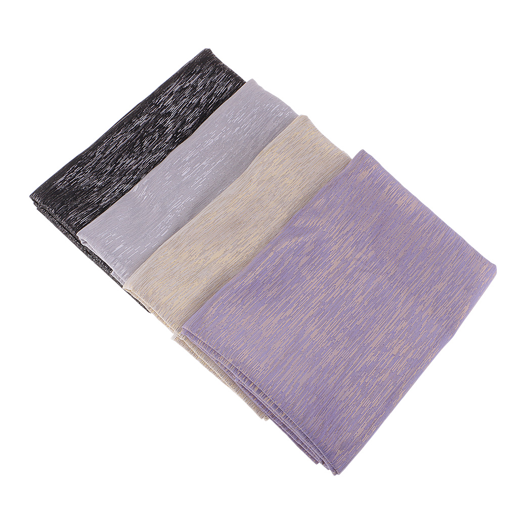 Double Sided Two Tone Polyester Fabric for Upholstery DIY Bags Curtain Sewing Material 2 Yard