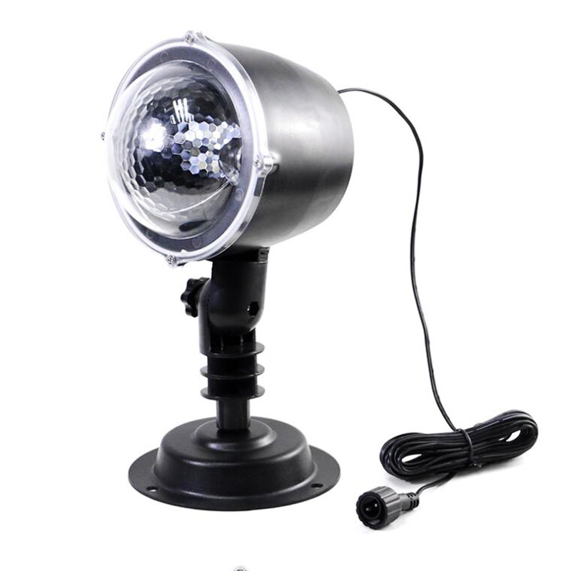 Snowfall Led Stage Lights Displays Projector Show Christmas Outdoor Indoor Rotating Snowflake Lamp Xmas Garden Landscape Decor (20)