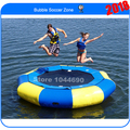 Free shipping Dia 3m inflatable water trampoline float for sale