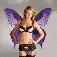 Бабочка Хэллоуин костюмы модный показ этап proformance show Танцы ангельские крылья бабочки косплей крылья