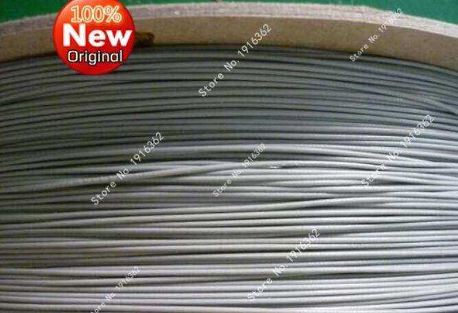 100 mètre/1 PCS/Lot 1.13 1.13mm fils/câble d'antenne Coaxial 50ohm 100 M couleur grise