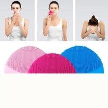 Горячие Mini2 T-sonic силиконовые чистки устройства угорь Перезаряжаемые Электрический Очиститель для лица кисти Приспособления для красоты