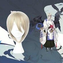 Game Onmyoji Cosplay Wigs Dai Ten Guu Heat Resistant Synthetic Wig Halloween Carnival