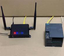 4 יציאות Ethernet/4G Gateway מודול עבור מרחוק PLC HMI Siemens mitsubishi שניידר AB דלתא Xinje Omron, LAN WAN USB נתב