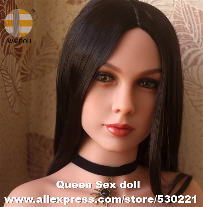 WMDOLL Top quality TPE sex doll head for japanese love doll oral sex toys for men
