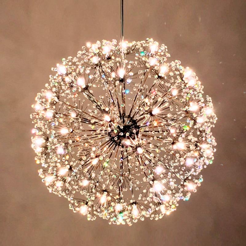 Kitchen Pendant Lights Hanging Lamps led Crystal Pendant Light Modern Pendant Lamp Chrome Hanging Light Dining Room Crystal Lamp